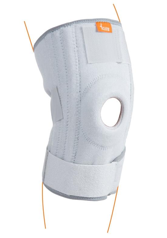 Compression Stabilized Open Knee Support KE004